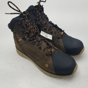 Wolverine Rigger Mens Boots Brown Black Size 12